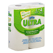 Hill Country Essentials Ultra Invent-A-Size Double Roll Paper Towels