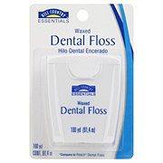 Hill Country Essentials Waxed Dental Floss 100 YD