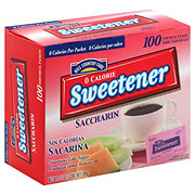 Hill Country Fare 0 Calorie Saccharin Sweetener Packets