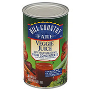 Hill Country Fare 100% Veggie Juice
