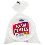 Hill Country Fare 7 Inch Foam Plates