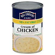Hill Country Fare 98% Fat Free Condensed Cream of Chicken Soup