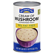 Hill Country Fare 98% Fat Free Condensed Cream of Mushroom Soup
