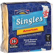Hill Country Fare American Cheese Singles