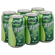 Hill Country Fare Apple Soda 12 oz Cans