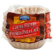 Hill Country Fare Basket Coffee Filters, 8-12 Cup, Natural Brown