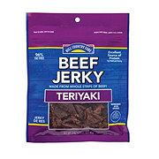 Hill Country Fare Beef Jerky Teriyaki