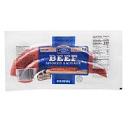 Hill Country Fare Beef Smoked Sausage with Natural Casing