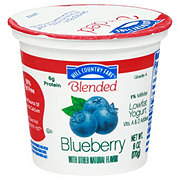 Hill Country Fare Blended Low Fat Blueberry Yogurt