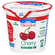 Hill Country Fare Blended Low Fat Cherry Yogurt