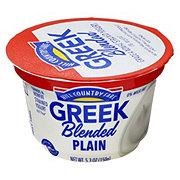 Hill Country Fare Blended Plain Greek Yogurt