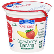 Hill Country Fare Blended Strawberry Banana Low Fat Yogurt