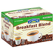 Hill Country Fare Breakfast Blend Decaf Single Serve Coffee Cups