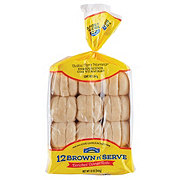 Hill Country Fare Brown & Serve Enriched White Rolls