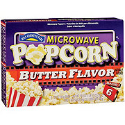 Hill Country Fare Butter Flavor Microwave Popcorn