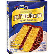 Hill Country Fare Butter Recipe Moist Cake Mix