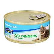 Hill Country Fare Cat Dinners Mariner's Catch Cat Food