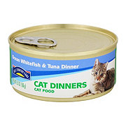 Hill Country Fare Cat Dinners Ocean Whitefish and Tuna Dinner Cat Food