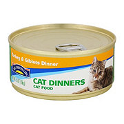 Hill Country Fare Cat Dinners Turkey and Giblets Dinner Cat Food