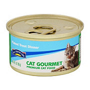 Hill Country Fare Cat Gourmet Flaked Trout Dinner Premium Cat Food