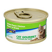 Hill Country Fare Cat Gourmet Grilled Chicken Dinner in Gravy Premium Cat Food