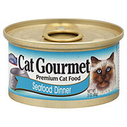 Hill Country Fare Cat Gourmet Premium Cat Food Seafood Dinner