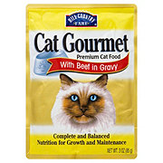 Hill Country Fare Cat Gourmet Premium Cat Food with Beef in Gravy