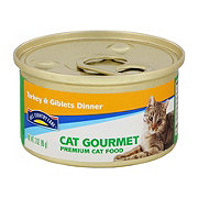 Hill Country Fare Cat Gourmet Turkey and Giblets Dinner Premium Cat Food