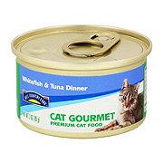 Hill Country Fare Cat Gourmet Whitefish & Tuna Dinner Premium Cat Food