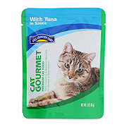 Hill Country Fare Cat Gourmet with Tuna in Sauce Premium Cat Food