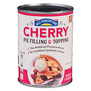 Hill Country Fare Cherry Pie Filling & Topping