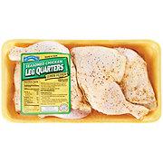 Hill Country Fare Chicken Leg Quarters Lemon Pepper Seasoned