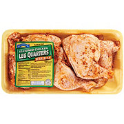 Hill Country Fare Chicken Leg Quarters Texas Red BBQ Seasoned
