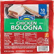 Hill Country Fare Chicken Sliced Bologna