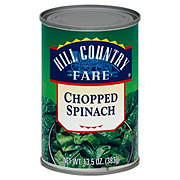 Hill Country Fare Chopped Spinach