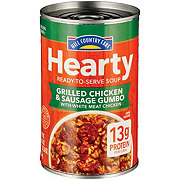 Hill Country Fare Chunky Grilled Chicken & Sausage Gumbo Soup