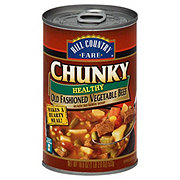 Hill Country Fare Chunky Healthy Old Fashioned Vegetable Beef Soup