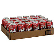 Hill Country Fare Cola 24 PK Cans Case