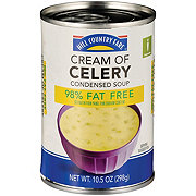 Hill Country Fare Condensed 98% Fat Free Cream of Celery Soup