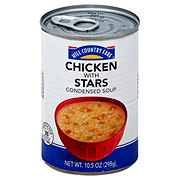 Hill Country Fare Condensed Chicken with Stars Soup