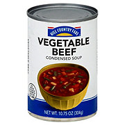 Hill Country Fare Condensed Vegetable Beef Soup