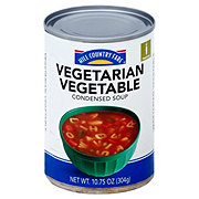 Hill Country Fare Condensed Vegetarian Vegetable  Soup