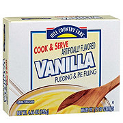 Hill Country Fare Cook and Serve Vanilla Pudding