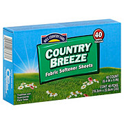 Hill Country Fare Country Breeze Fabric Softener Sheets