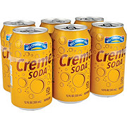 Hill Country Fare Creme Soda 6 PK Cans