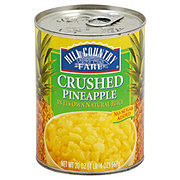 Hill Country Fare Crushed Pineapple