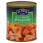 Hill Country Fare Cut Sweet Potatoes in Light Syrup