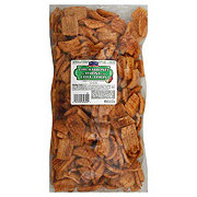 Hill Country Fare Deli Style Chicharrones Chili Lime Wheat Chips