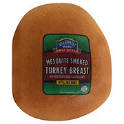 Hill Country Fare Deli Style Mesquite Smoked Turkey Breast, sold by the
