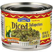 Hill Country Fare Diced Medium Jalapenos
